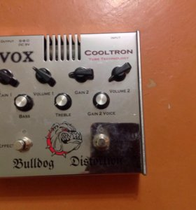 Vox Cooltron tube technology