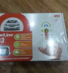 Продам автосигнализацию StarLine A93