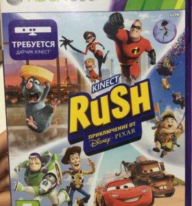 Игра на Xbox 360 Kinect rush Disney