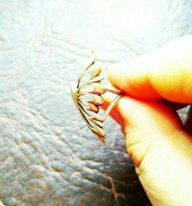 """Кольцо """"Крыло бабочки"""""""