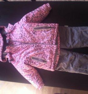 Зимний костюм Crockid для девочки (86-92)