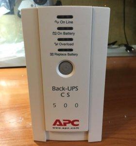 ИБП APC  Back-UPS CS 500VA новый