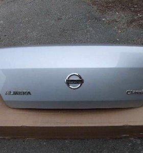 Крышка багажника на Ниссан Альмера Классик