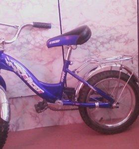 Велосипед детский на ребенка от 3-х до 7-ми лет