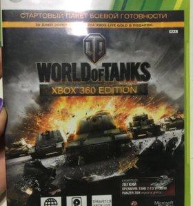 Игра на xbox360 world of tanks
