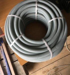 Труба гофрированая для электропроводки 25 диаметр