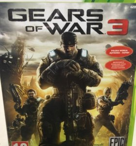 Игра на xbox360 gears of war3