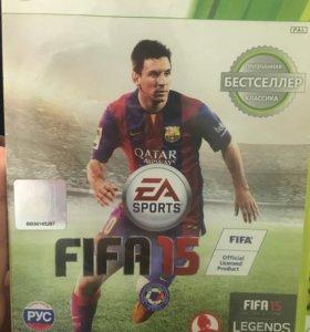 Игра на xbox360 FIFA15