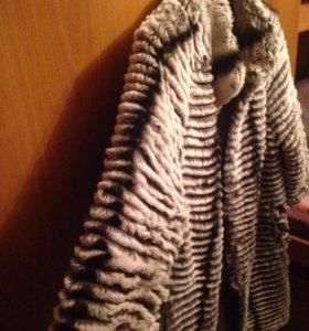 Пальто под шиншиллу