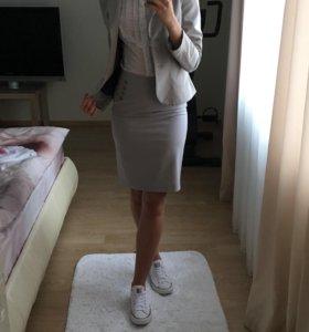 Костюм ( пиджак + юбка )
