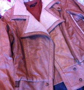 Кожа. Куртка на весну осень