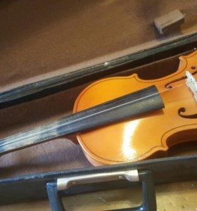 Скрипка 2/4 + чехол