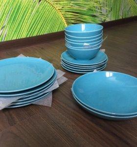 Набор посуды Икеа новый