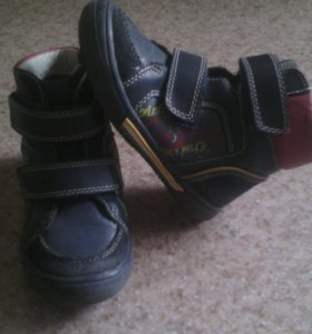 Ботинки весенние на мальчика