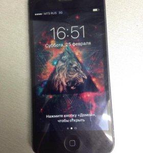 iPhone 5 black 64гб