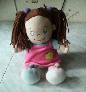 Кукла новая мягконабивная фирмы Аврора
