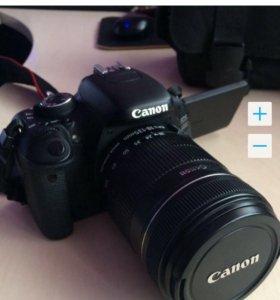 Фотоаппарат зеркальный EOS 600D 18-135 mm