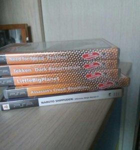 5 игр для PSP
