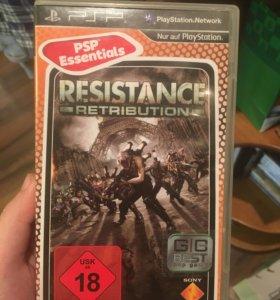 Игра на PSP resistance