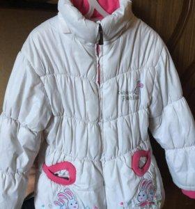 Куртка на девочку 5-6
