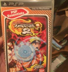 Игра на PSP наруто fighting