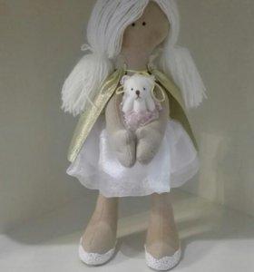 Кукла текстильная handmade. Смотрите профиль