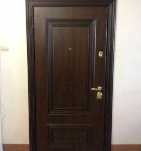 Входная новая металлическая дверь Поло