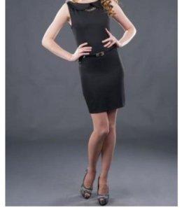 Продается чёрное платье-сарафан