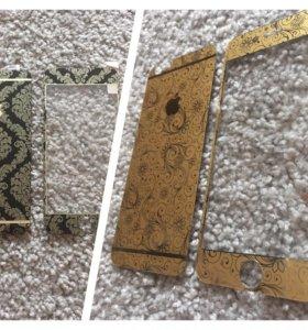Защитные стекла с узором iPhone 6/6s