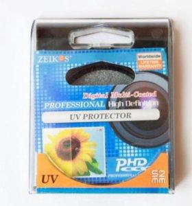 Uv-фильтр zeikos 52 mm новый