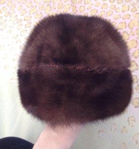 Новая норковая шапка бандана