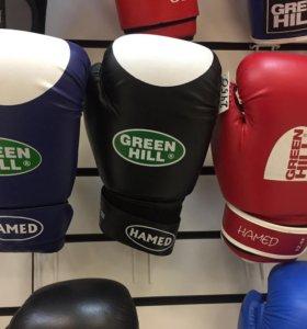 Перчатки для боксе Green Hill