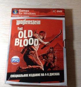 Диск wolfenstein the OLD BLOOD