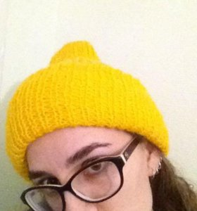 Вязаная шапочка 🐤