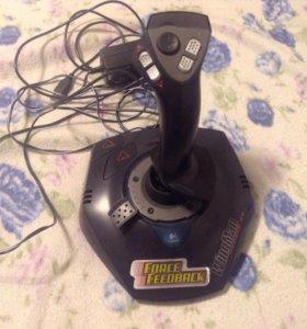 Игровой джойстик для компьютера wingman force 3D