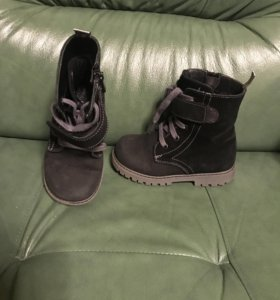 Демисезонные ботинки на мальчика р.25 HAPPY STEPS