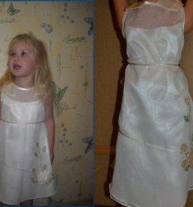 Платье нарядное р.98-104