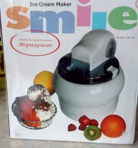 Прибор для приготовления мороженого.