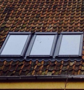 Мансардное окно - новое