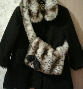 Красиво пальто на девочку