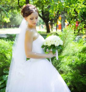 Свадебное платье (XS-M)