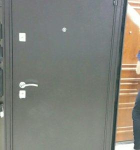 Входная дверь с установкой Эко Дуб
