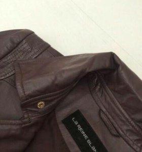 Новая коженная куртка, р-р S