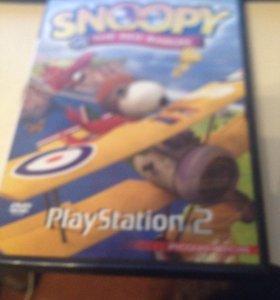 Игра snoopy для play station 2