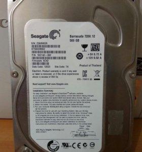 Жесткий диск SagateBarracuda 7200 500 GB