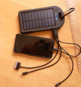 Повер банк с солнечной батареей