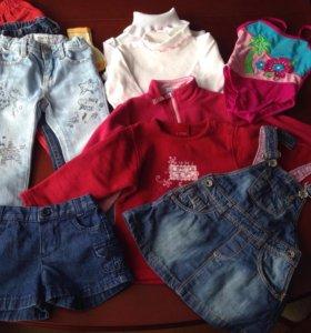 Одежда для девочки 86-92