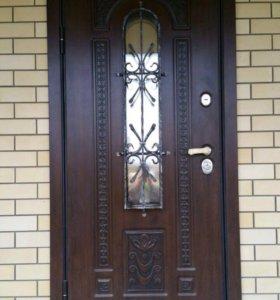 Входная новая металлическая дверь Лацио