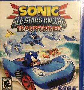Игра на PSvita sonic all stars racing