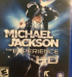 Игра на PSvita Michael Jackson